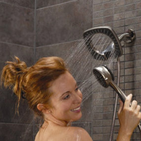 Shower Head with Hand Held Shower – in2ition by Alsons