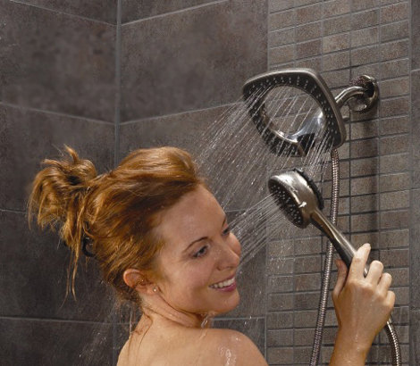 shower head with hand held shower in2ition alsons 1 Shower Head with Hand Held Shower   in2ition by Alsons