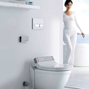 Shower-Toilet Seat SensoWash Starck 3 by Duravit