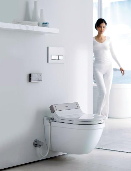 shower toilet seat sensowash starck 3 duravit 1 Shower Toilet Seat SensoWash Starck 3 by Duravit
