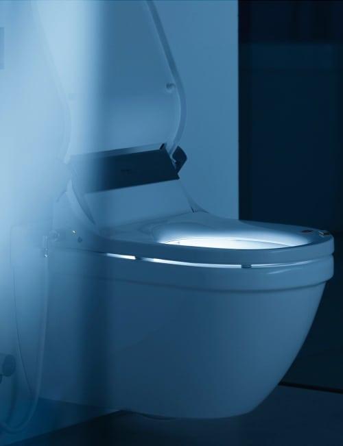 shower toilet seat sensowash starck 3 duravit 6