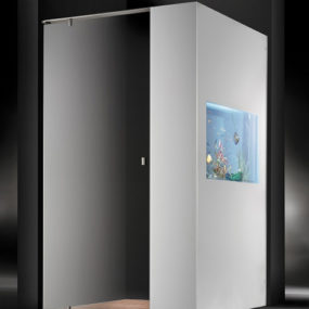 Shower with Aquarium by Cesana – Plano Acquario
