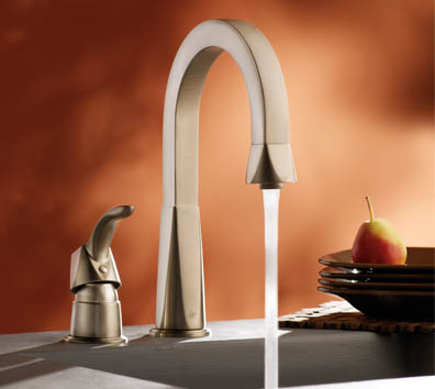 Showhouse Bathroom And Kitchen Faucets U2013 New Moen Divine Faucet Collection