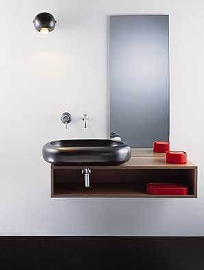sicart bubb 3 bathroom set Modern Bathroom set from Sicart   the Bubb