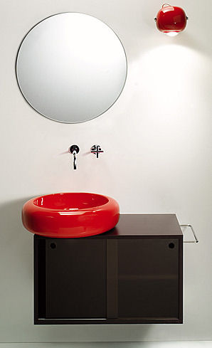 sicart bubb bathroom collection Modern Bathroom set from Sicart   the Bubb