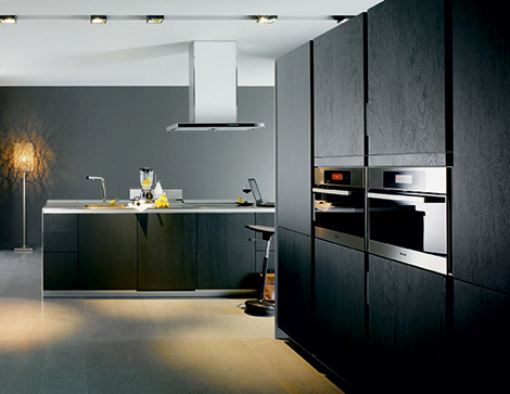 Siematic S1 kitchen in dark Sukupira wood