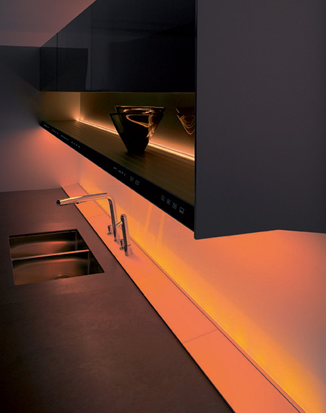 Siematic S1 kitchen LED - mood light