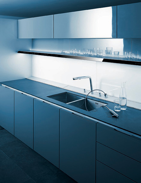 Siematic S1 kitchen - movable faucet head