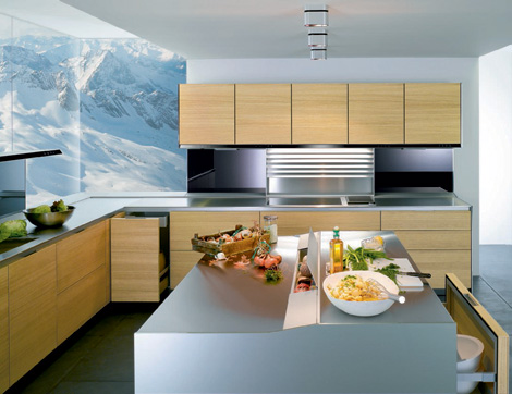 Siematic S1 kitchen - range hood