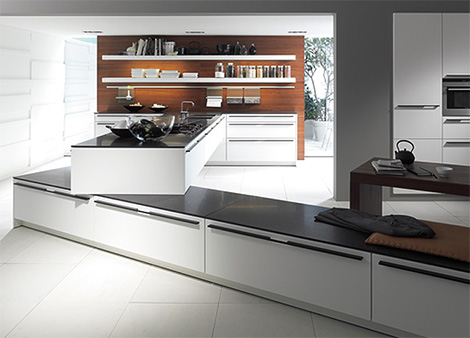 siematic sc61 kitchen overall Modern Kitchen from SieMatic   SC 61 kitchen redefines home space