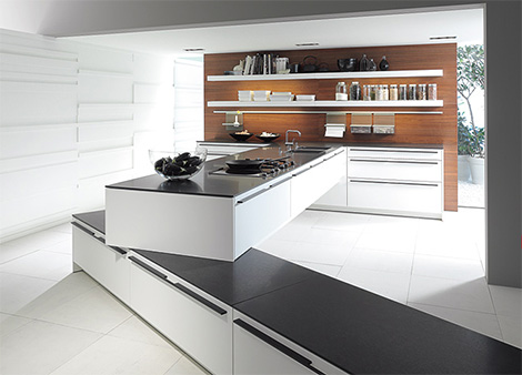 siematic sc61 kitchen Modern Kitchen from SieMatic   SC 61 kitchen redefines home space