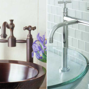 New Sigma faucets – bridge faucet design