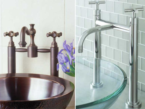 New Sigma faucets - bridge faucet design