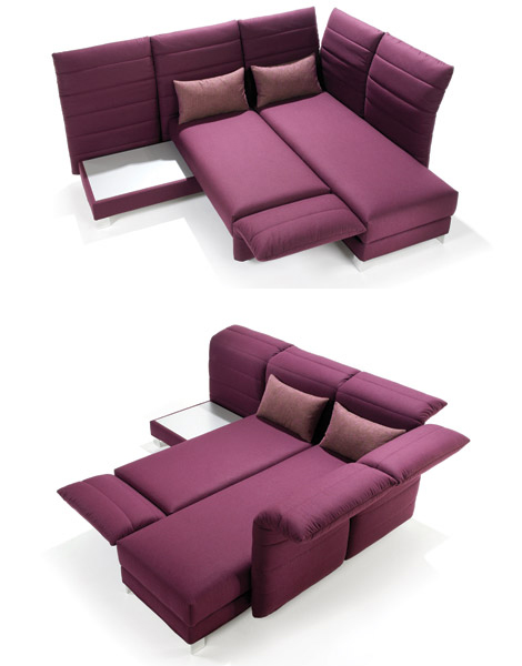 signet ubos sofa bed 1 Modern Sofa Bed by Signet   folding and reclining Ubos sofa