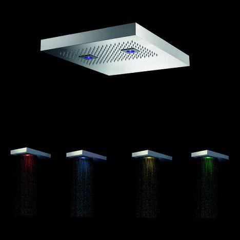 signorini rubinetterie showerhead colors