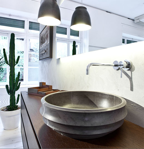 signweb sink gray Handmade Vessel Sinks by Sign