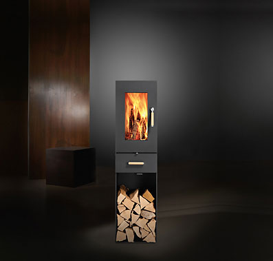 sikken stove darwin 2 Modular Wood Stove from Sikken   Swiss stove Darwin