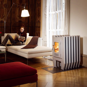 Stove Radiator from Sikken – Ray is also a true wood pizza oven!
