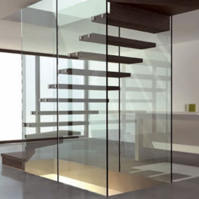 Wood and Glass Staircases – Mistral staircase design by Siller
