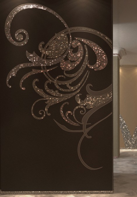 silven wallcoverings detail Textured Wallcoverings by Silven   Glamorous Covering for Vertical Surfaces and Furnishing