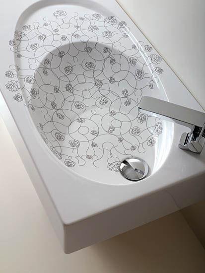 simas bohemien bathroom collection sink Bohemian bathroom collection from Simas   the Art Deco bathroom