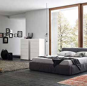 Cozy Bedroom Design Ideas by Rossetto Armobil