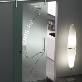 Sliding Glass Door from Foaporte – frosted glass doors