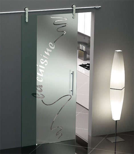 single sliding tekno door foaporte Sliding Glass Door from Foaporte   frosted glass doors