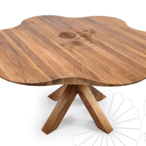 Skillfully Handcrafted Modern Wooden Furniture by Manulution