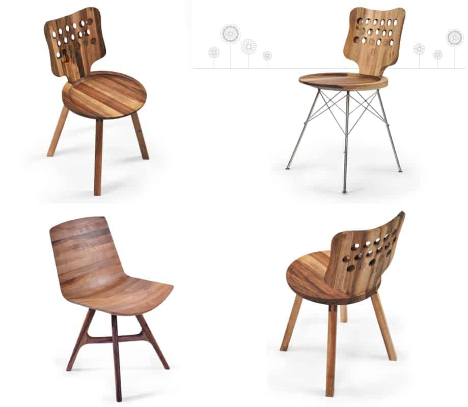 Skillfully handcrafted modern wooden furniture by manulution for Modern wood furniture
