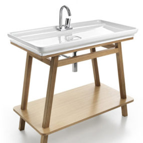 Skinny Bathroom Sink by ArtCeram