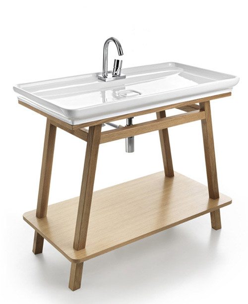 skinny bathroom sink artceram 1 Skinny Bathroom Sink by ArtCeram