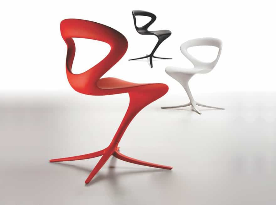 Gentil Slinky Ultra Mod Chair By Infinity Of Italy
