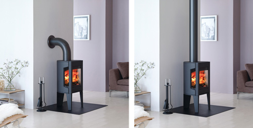 small cast iron wood stove jotul modern f163 3 Small Cast Iron Wood Stove by Jotul – Modern F 163