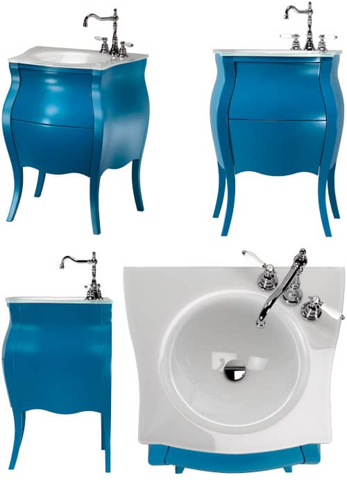 small classic vanity design bonbon ypsilon 2 Small Classic Vanity Design   BonBon by Ypsilon