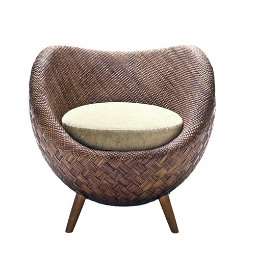 View In Gallery Small Comfortable Rattan Chair Kenneth Cobonpue La Luna
