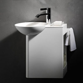 Small Sink with Cabinet by Alape – Insert