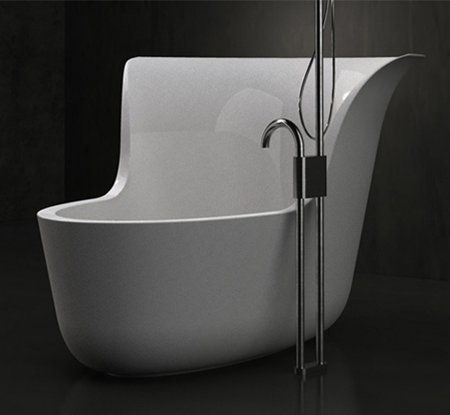 smalls soaking tub shower combo marmorin jena 2 Small Soaking Tub Shower Combo by Marmorin