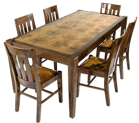smc furnishings egw dining set