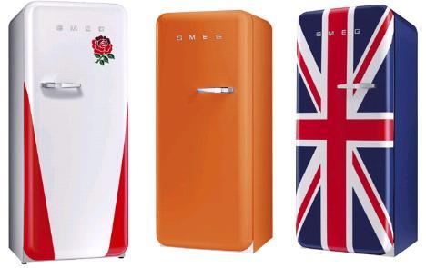 smeg fab30 fridge colors Fab32 Refrigerator from Smeg   the 50s are back
