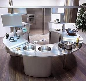 snaidero acropolis kitchen Snaidero Acropolis kitchen   socializing for bachelors