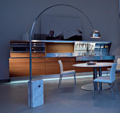 snaidero kitchen kube 4 Contemporary Italian Kitchen from Snaidero   the Kube