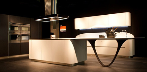 snaidero kitchen ola20 1 Futuristic Kitchen Designs by Snaidero – Ola20