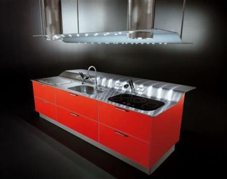 snaidero venus kitchen island New contemporary kitchen from Snaidero   the Venus kitchen