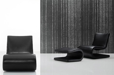 snake chairs black poliform Poliform Snake Chair has an iconic 'S' profile…