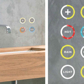 Soft Touch Water Control by Kaesch replaces your bathroom faucets!