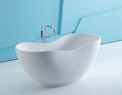 Solid Surface Bathtub – Lithocast freestanding baths by Kohler