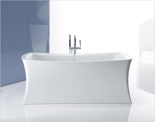 solid surface bathtub lithocast freestanding bath kohler aliento 2 Solid Surface Bathtub   Lithocast freestanding baths by Kohler