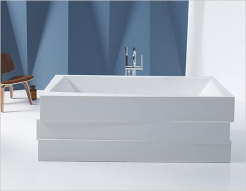 Solid Surface Bathtub - Lithocast freestanding baths by Kohler