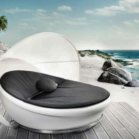 Modern Lounge Daybed by Solpuri – Lagoon